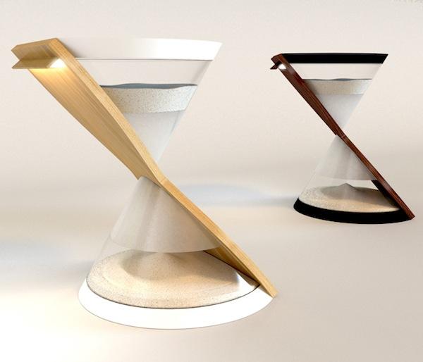 lampada clessidra