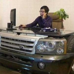 auto-scrivania-design Range-Rover