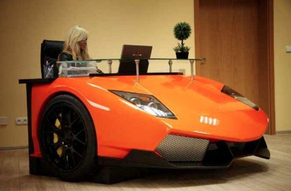 auto-scrivania-design Lamborghini