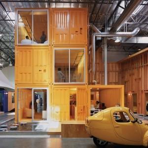 mini ufficio containers
