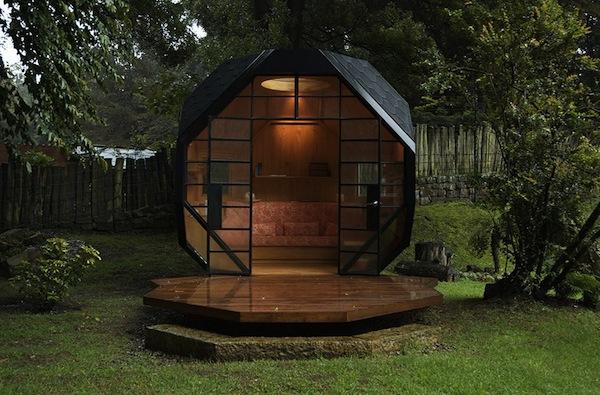 mini ufficio giardino