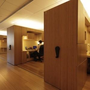 mini ufficio legno