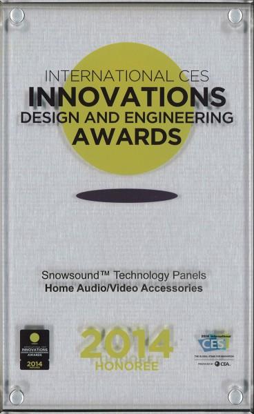 CES AWARD 2014