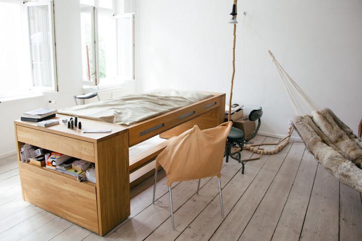 Mira Schröder: letto-scrivania