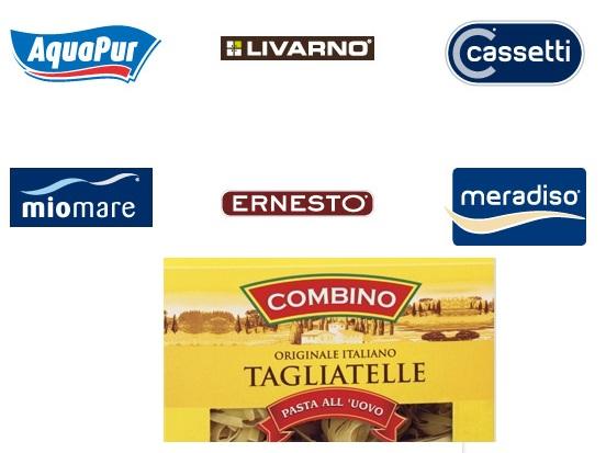 marche pseudo italiane del Lidl in Francia
